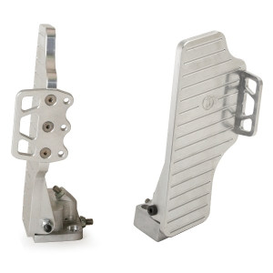 Jamar Performance Angled Aluminum Gas Pedal With Foot Rest