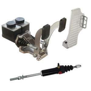 "Jamar BP5000X Dune Buggy Pedals 7/8"" Brake W/Foot Gas Pedal & Slave Cylinder."