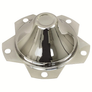"5 Lug Vw Chrome Center Wheel Cap-Fits All Wheels With 6-1/2"" Hole"