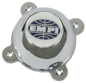 Empi 9708 Replacement Chrome Center Cap With SS Hardware For GT-8 Wheel