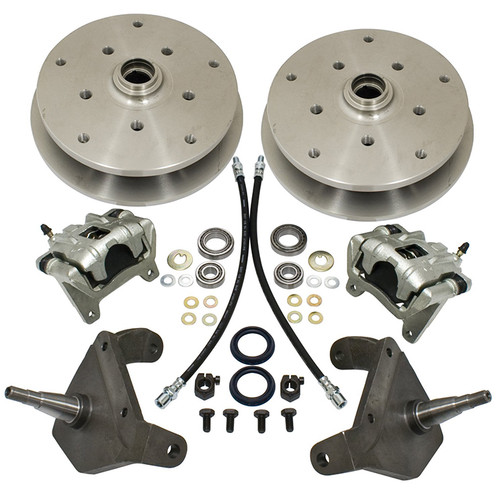 Empi 22-2926 Drop Spindle Ball Joint Front Disc Brakes 1966-77, 5 Lug Vw Pattern