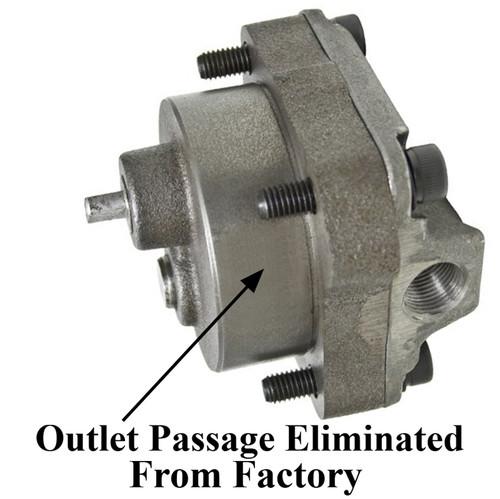 Empi 16-9714 Cast Iron Full Flow Oil Pump Kit For Flat Cam Vw Engines
