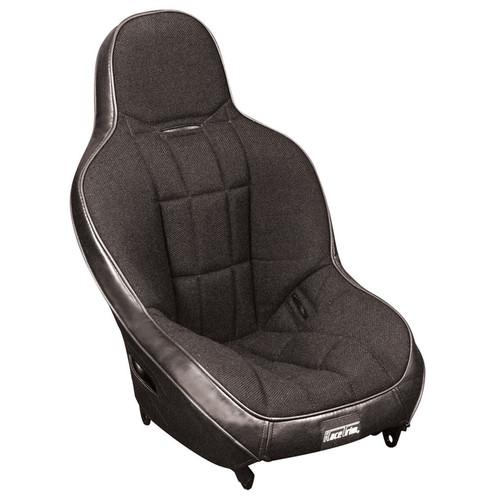 Empi 62-2771 Race Trim Child Suspension Hi-Back Seat - Black Cloth / Black Vinyl