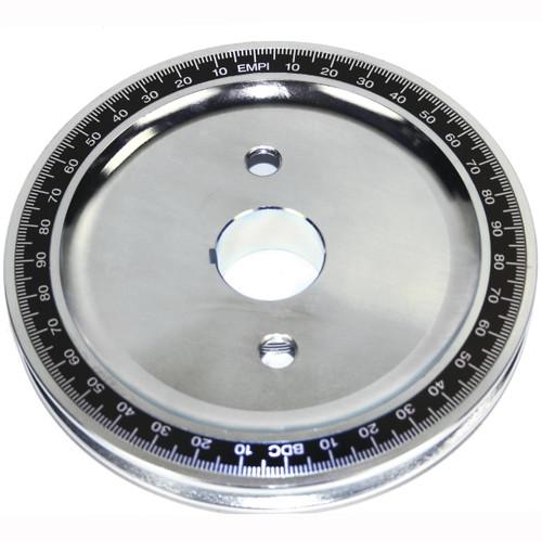 Empi 33-1090 Vw Steel Billet Crankshaft Stock Size Pulley With Timing Marks