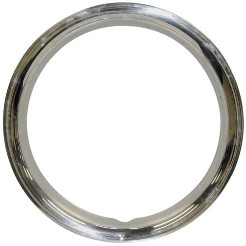 "Empi 10-1068 Stainless Steel Beauty Rings For 14"" O.E. Steel Wheels, Set Of 4"
