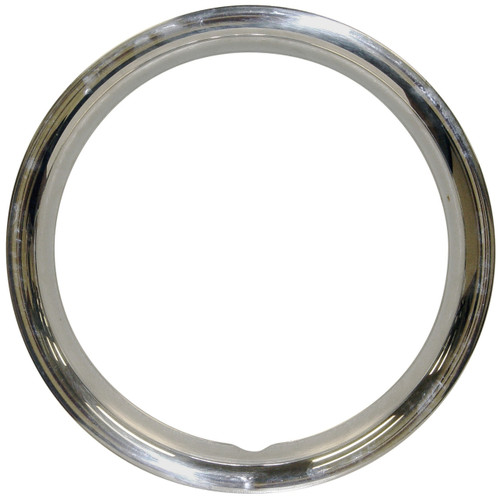 "Empi 10-1069 Stainless Steel Beauty Rings For 15"" O.E. Steel Wheels, Set Of 4"