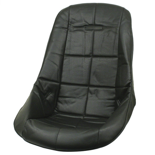 Empi 62-2408 Black Vinyl Low Back Poly Seat Cover