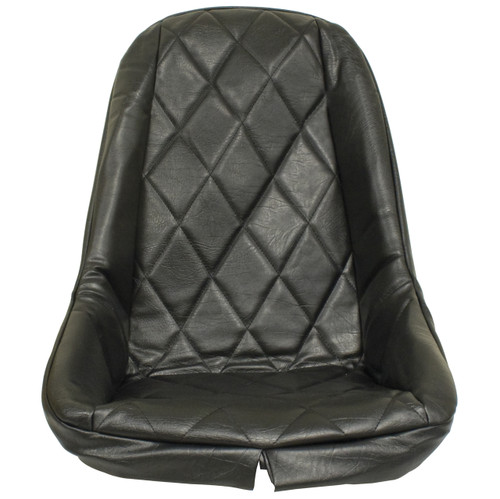 Empi 3880 Black Vinyl Low Back Bucket Seat Cover