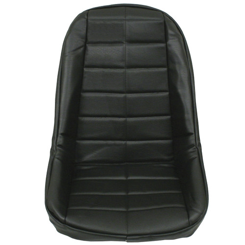 Empi 3882 Black Vinyl Low Back Bucket Seat Cover