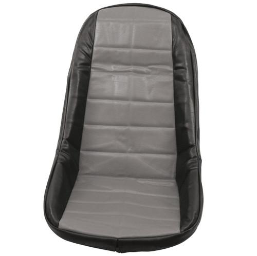 Empi 62-2613 Grey Vinyl Low Back Bucket Seat Cover