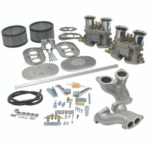 Empi Dual 45 D Series Carburetor Kit Vw Type 1 Air-cooled Dual Port Engine