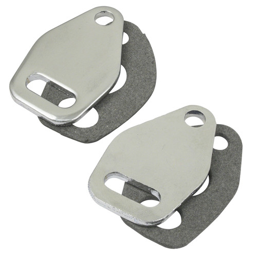 Empi 17-2824 Heat Riser Block Off Plates. Compatible With Exhaust Manifold Preheat Pipe Outlets