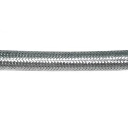 """Braided Stainless Steel Hose 1/4"""" Inner Diameter"""