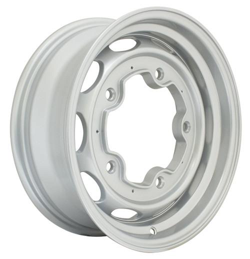 "Empi 10-1170 Vintage 190 Silver Aluminum Vw Wheel, 5X205 15""X4.5"" Wide"
