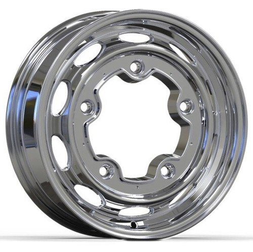 "Empi 10-1172 Vintage 190 Polished Aluminum Vw Wheel, 5X205 15""X4.5"" Wide"