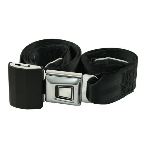 Empi 3844 Adjustable 2 Point Seat Belt / Lap Belt, Push Button Buckle, Each