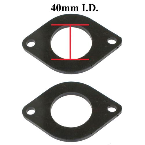 Empi B1-5621-2 Urethane Carb Isolators Weber IDF / Empi HPMX Carbs, Pair