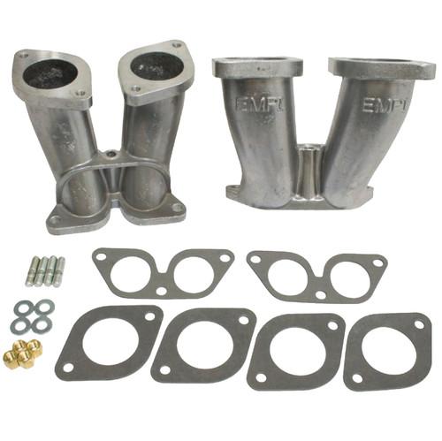 Empi 48-1295 Porsche Dual Manifold Kit 356/912 44 Weber IDF / Empi HPMX