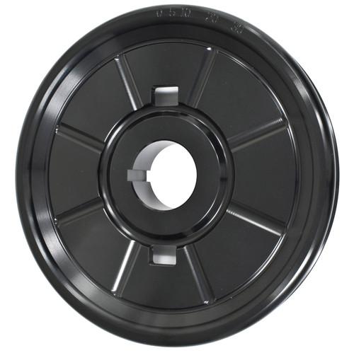 Empi 18-1063 Stock Design Aluminum Vw Crankshaft Pulley, Black Anodized