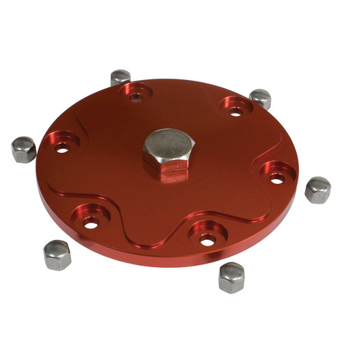 Empi 18-1087 Red Aluminum Oil Sump Plate Kit For Air-cooled Vw Engine