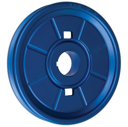Empi 18-1072 Stock Design Aluminum Vw Crankshaft Pulley, Blue Anodized