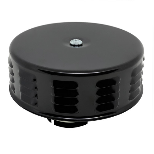 Black Round Louvered Air Cleaner For Classic Air-cooled Vw Bug