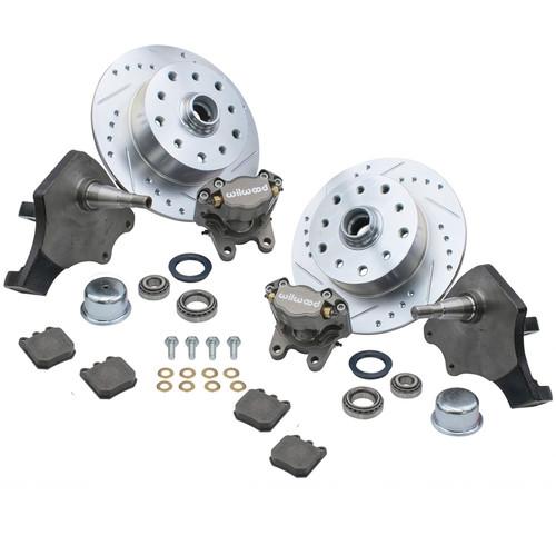 Empi 22-6152 Vw Bug Front Wilwood Disc Brake Kit Drop Spindle 5Lug Porsche/Chevy