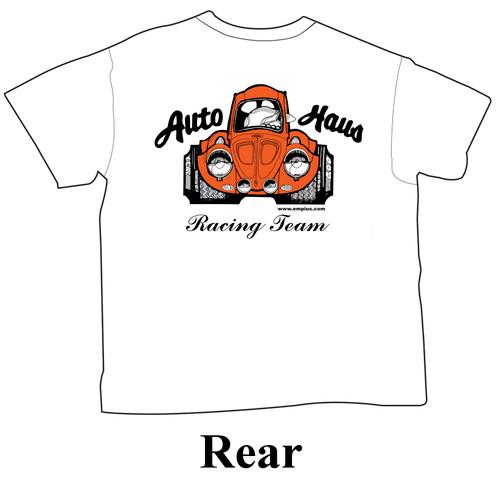 Empi 15-4036 Auto Haus White T-Shirt, Large