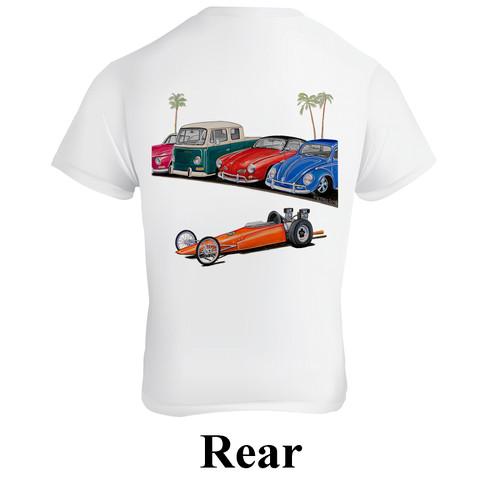 Empi 15-4117 Dragster T-Shirt, Large