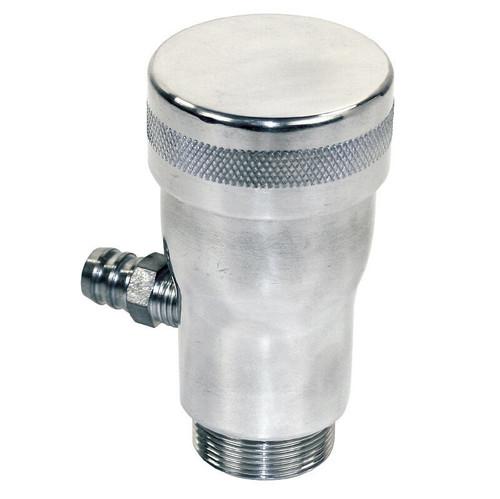 Empi 7904 Polished Vented Vw Oil Filler w/Screw On Cap/Fits Air-cooled Vw Engine