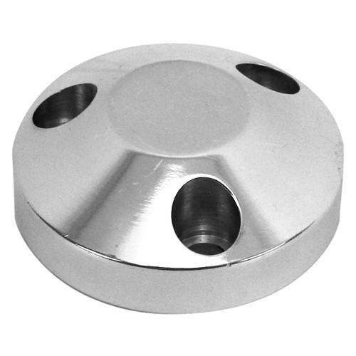 Aluminum 3 Bolt Center Cap For Steel Or Aluminum Steering Wheels