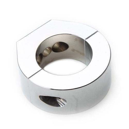 "Polished Aluminum Clamp Bracket 1-1/2"" Tubing Use With AC750111 Tach Mount"