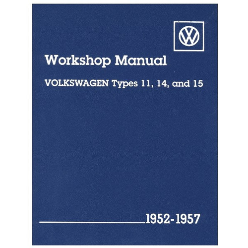 Bentley Shop Manual For Type 2 Vw Bus 1963-1967 Air-cooled Volkswagens