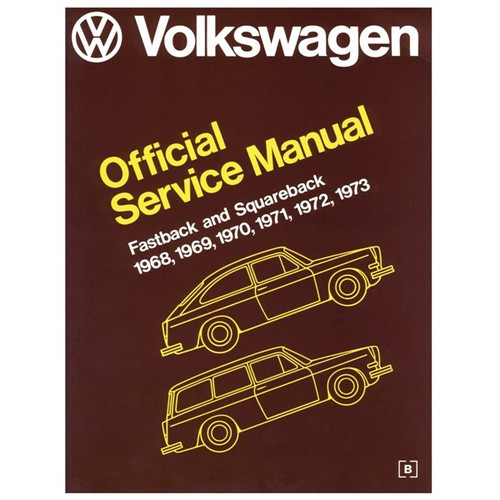 Bentley Shop Manual For Type 3 1968-1973 Air-cooled Volkswagens