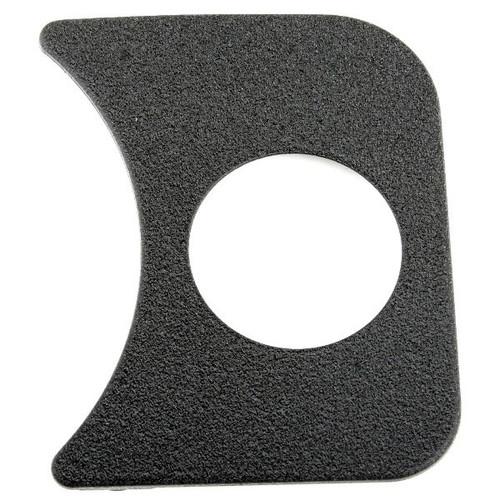 Black Gauge Panel - Right Side Of Speedometer On Vw Bug Dash