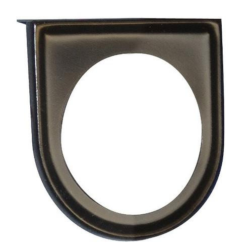 """Black Under Dash 1 Hole Gauge Panel For 2-1/16"""" Gauges"""