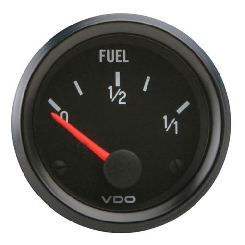 """VDO Cockpit Series 2-1/16"""" Fuel Level Gauge 301015"""
