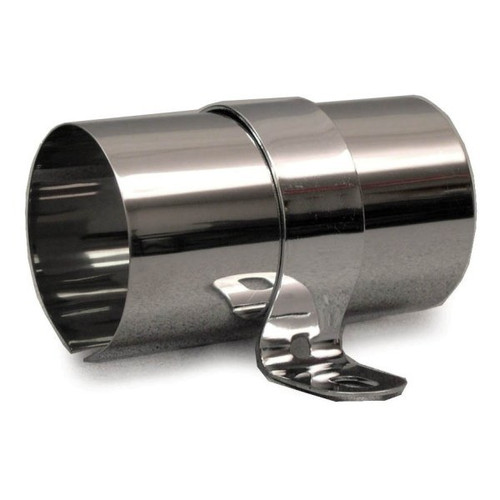 Polished Stainless Steel Coil Cover For Most Round Coils