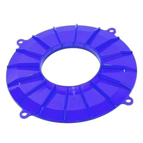 Blue Finned Vw Generator/Alternator Backing Plate Cover