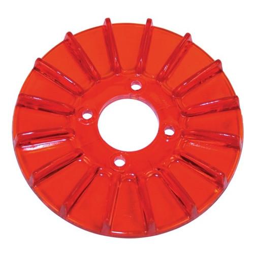 Empi 8926 Finned Alternator/Generator Red Pulley Cover, Dune Buggy Vw Baja Bug