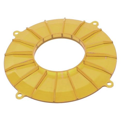 Yellow Finned Vw Generator/Alternator Backing Plate Cover