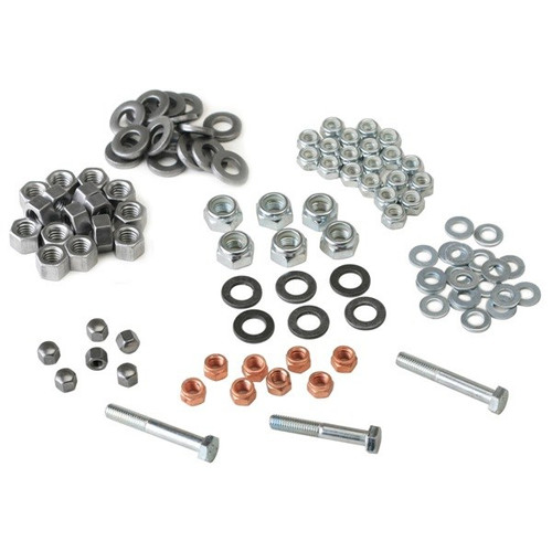 Vw Bug Engine Hardware Nut Kit With 10mm Head Nuts