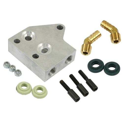 Dual Bypass Oil Filter/Cooler Adapter