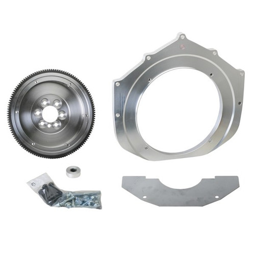 Chevy Engine Adapter Kit 4.3 Engine To Vw 091 Bus - 228mm Clutch