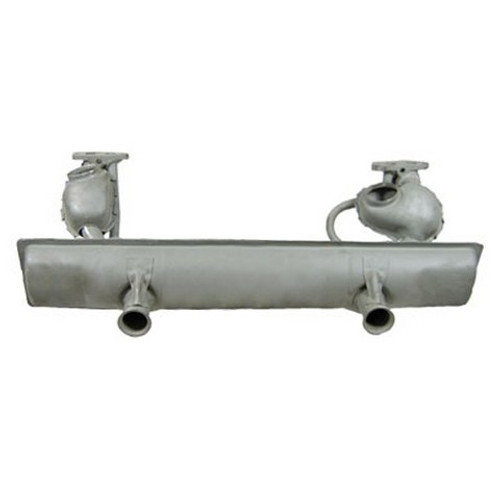 1974 Only Stock Bug Muffler For 1600cc Vw Air-cooled Engines