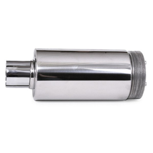 """4"""" Stainless Spark Arrestor With 2"""" Clamp On Opening. 11"""" Length"""