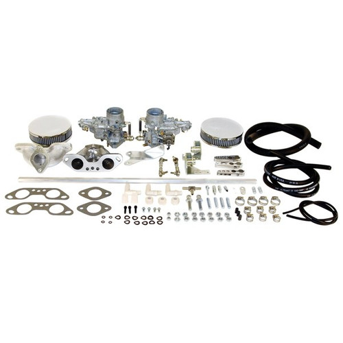 Weber Dual 34 ICT Carburetor Kit Vw Type 2 Air-cooled Dual Port Engine