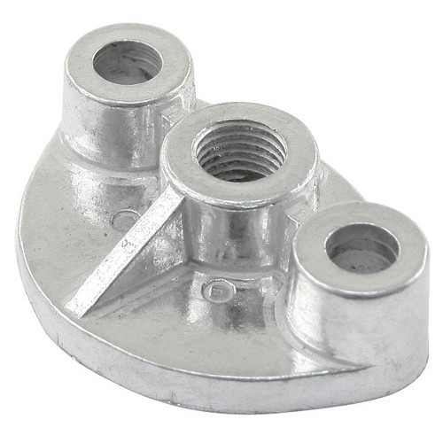 Air-cooled Vw Aluminum Manual Fuel Pump Block Off Plate With 12mm Boss