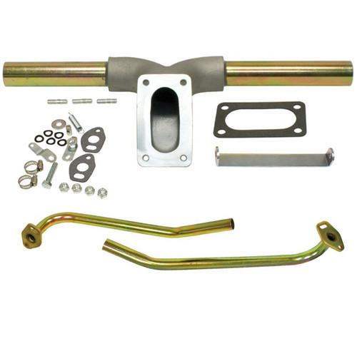 Empi 3232 Vw Bug Intake Manifold For Single Progressive Weber/Empi Carburetor