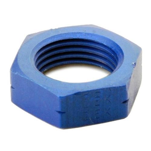 An Nut For #6 Bulk Head Adapter - Blue
